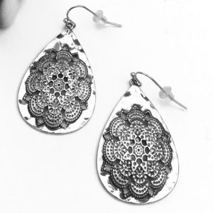 Lovely boho style drop earrings